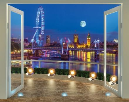 London Skyline Wallpaper Mural